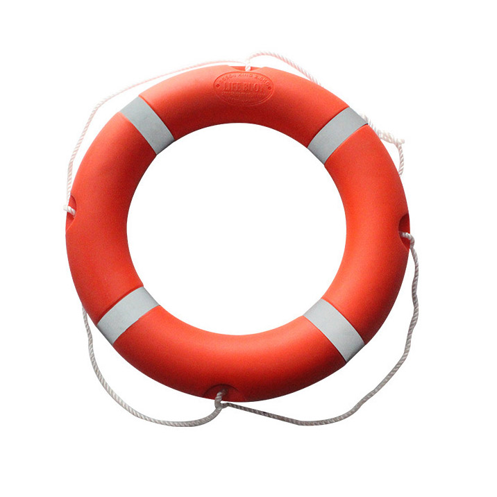2.5kg国标船用塑料救生圈