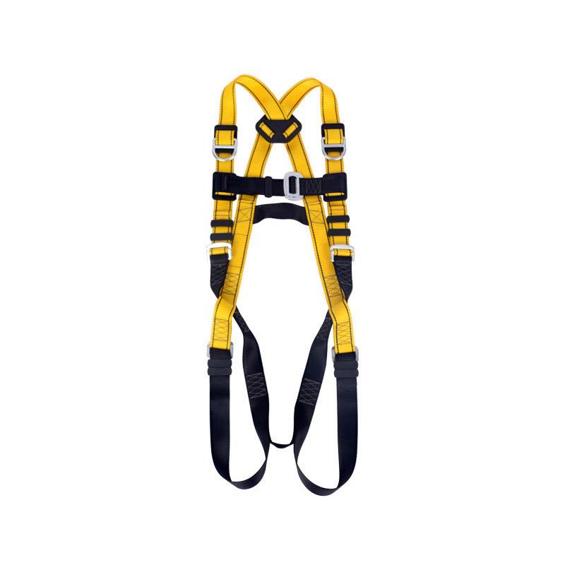 高空作业悬挂双背带式4挂点安全带