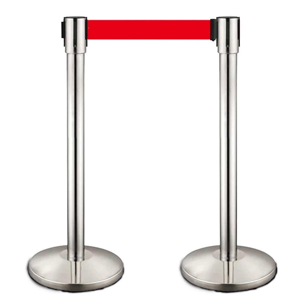 伸缩式警戒线围栏 银行柜台一米线
