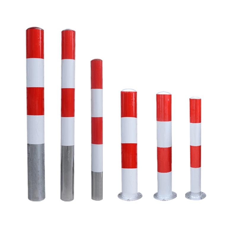 反光镀锌钢管警示柱道路防撞防护柱