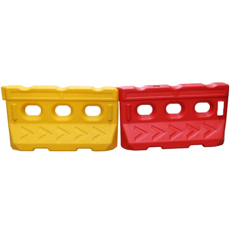 全新料黄红三孔水马 路障水马 水马隔离墩