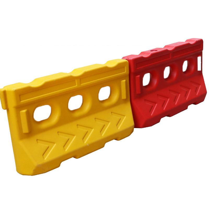 全新料黄红三孔水马 路障水马