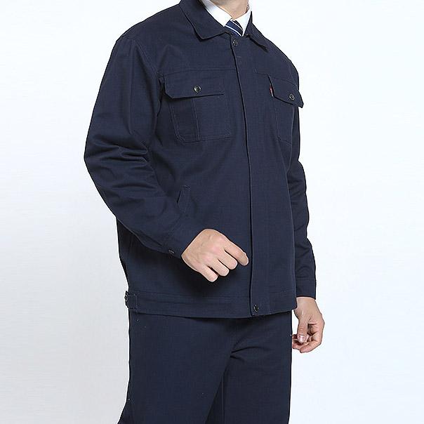长袖工作服套装纯棉