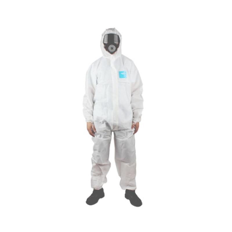 白色增强型防化服