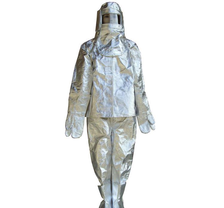 消防铝箔隔热耐高温防护服