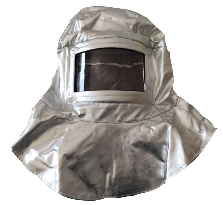 铝箔隔热耐高温阻燃头面罩