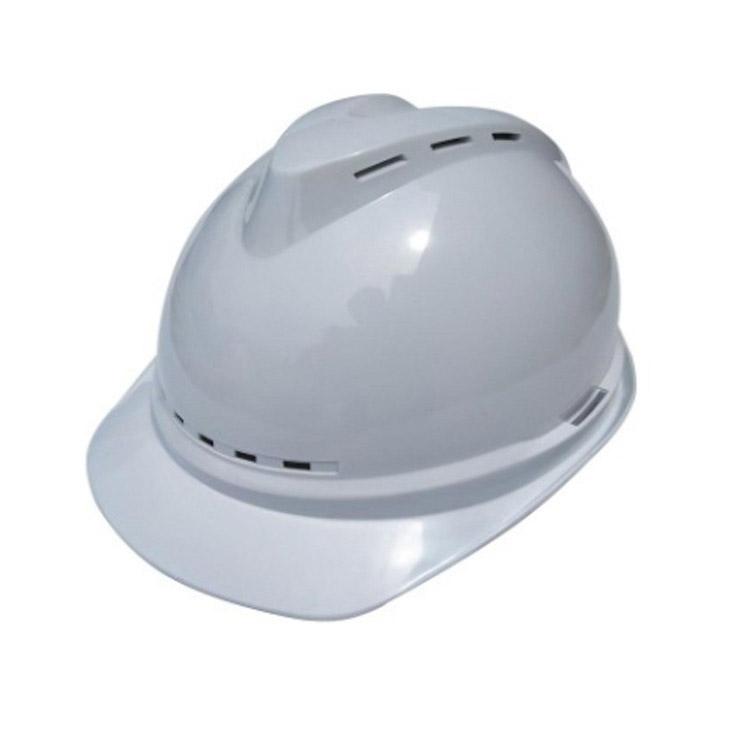 国标V型夏季遮阳透气ABS安全帽