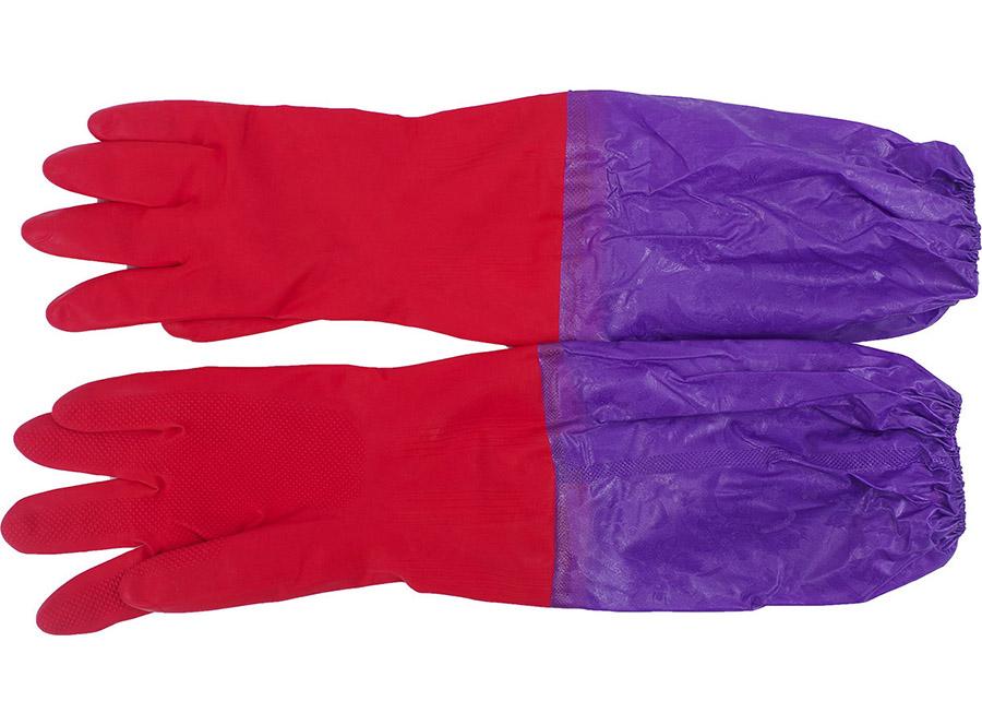 四季加长加厚橡胶手套