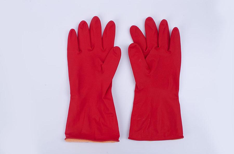 加棉保暖乳胶手套