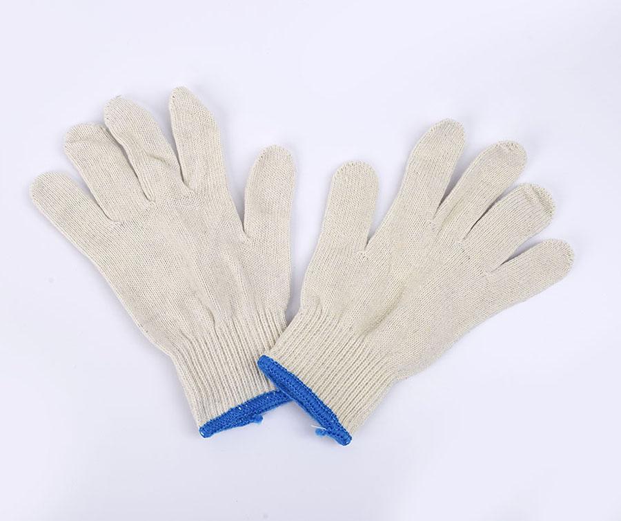 加厚耐磨棉线手套