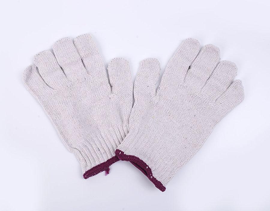纯棉棉纱线手套