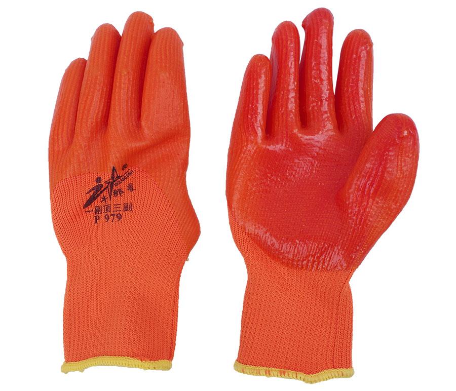 丁晴浸胶涂挂胶线手套