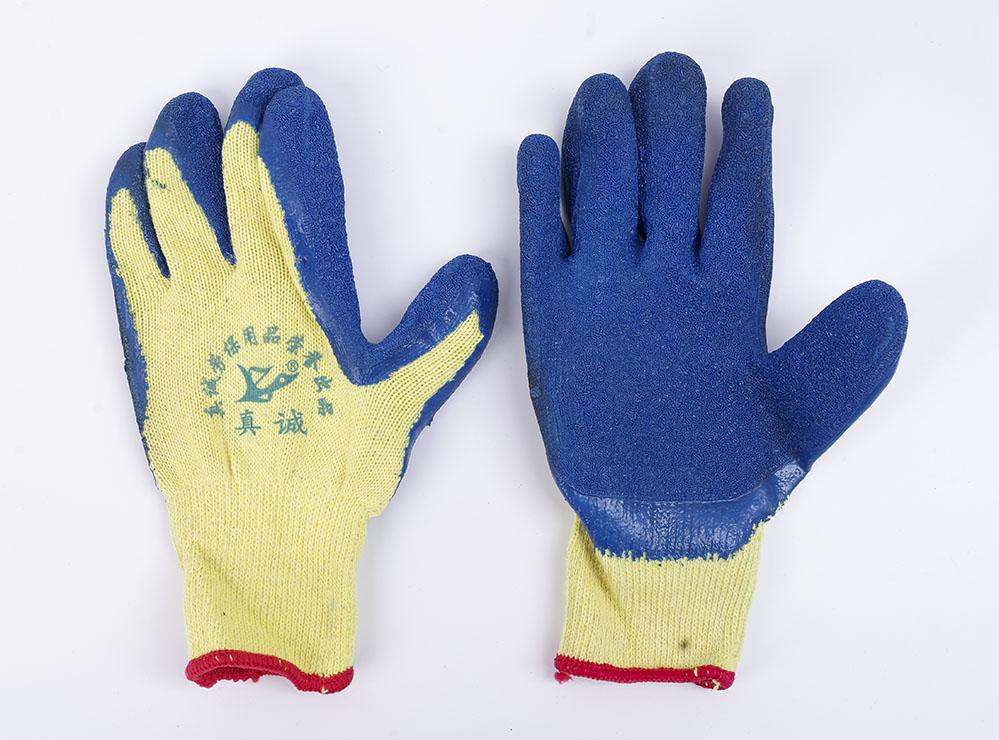 半挂乳胶发泡手套防滑耐磨