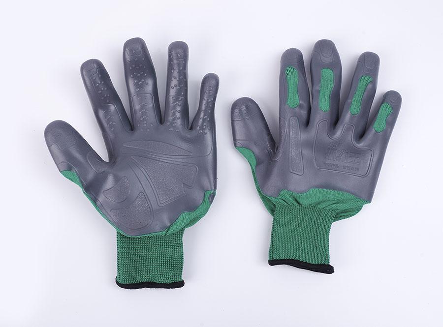 耐油污丁腈橡胶防滑手套