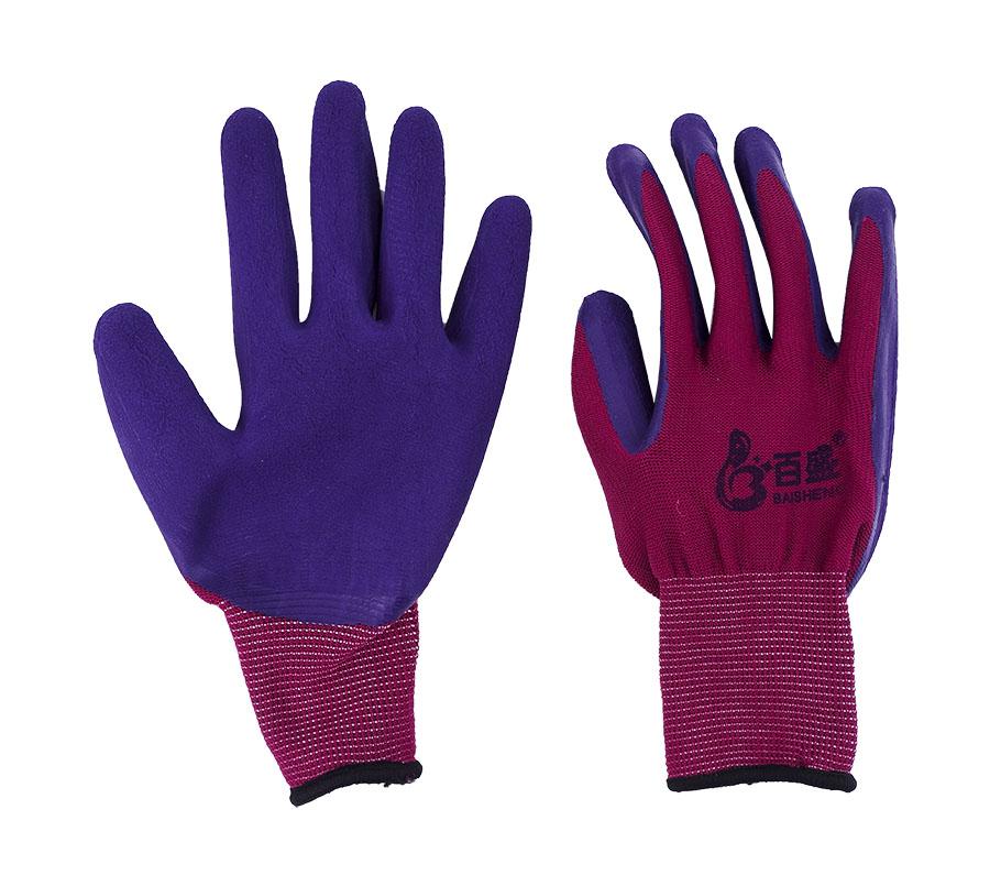 浸胶劳加厚防滑耐磨手套