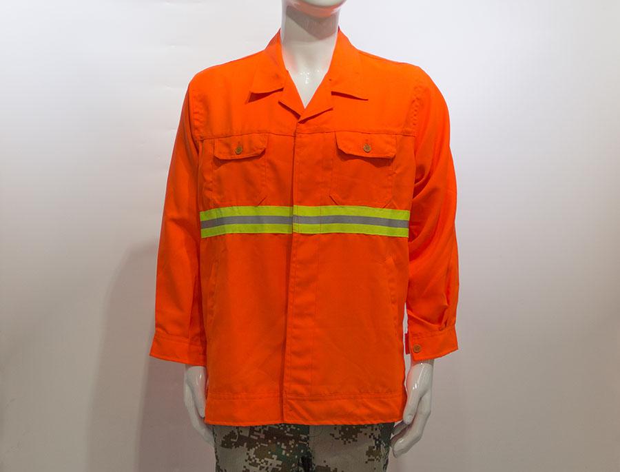 长袖反光环保服