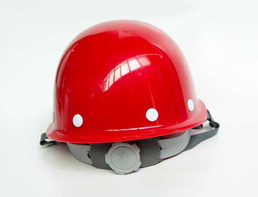 高强度劳保防护安全帽