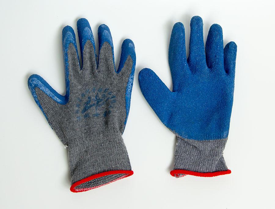 皱纹防滑劳保防护手套