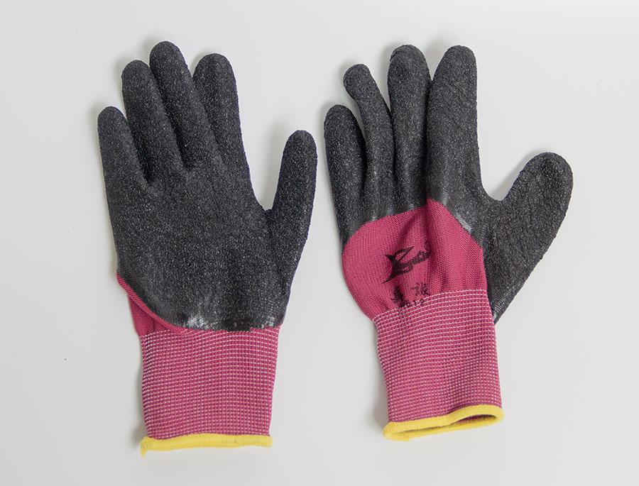 加厚皱纹防滑耐磨手套